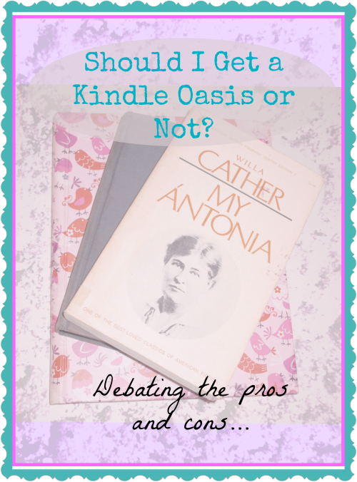 Kindle Oasis-Is it Practical to Replace Books?