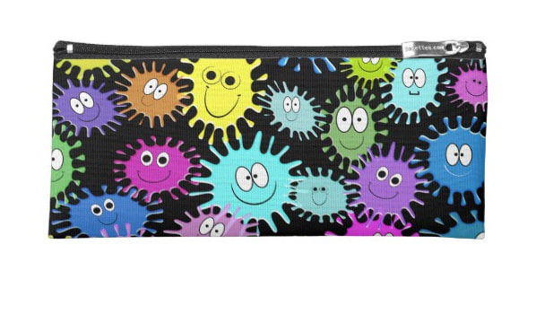 Back-to-School 2017 Science Love Amoeba Pencil Case