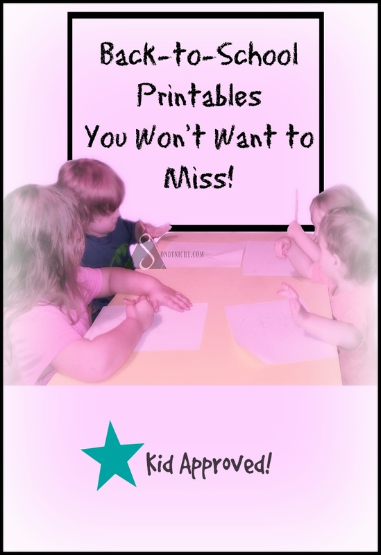 Back-to-School Printables Design