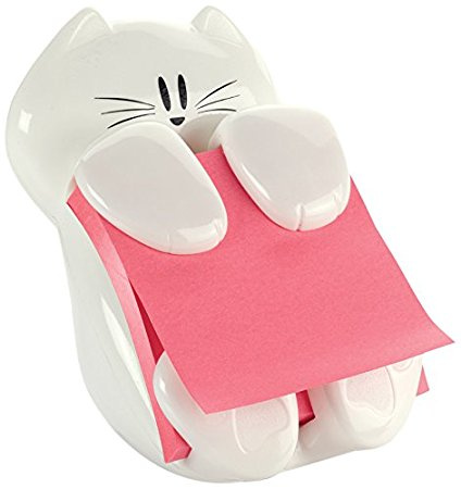 Cute School Supplies for 2017 Cat Post-It Note Holder