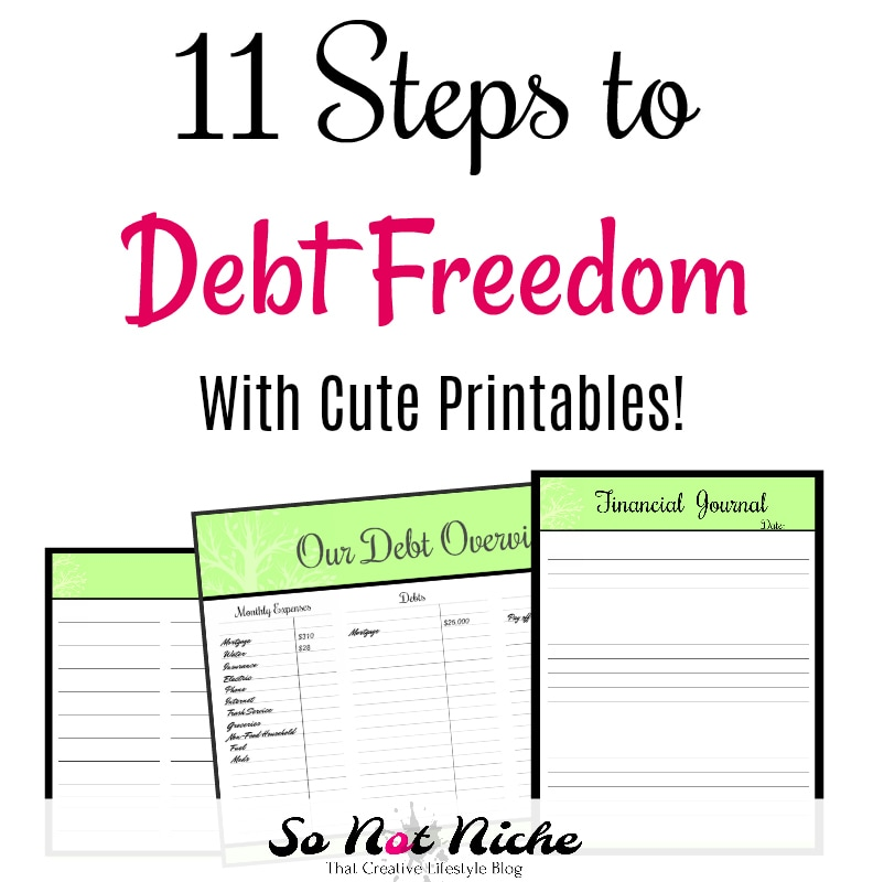 11 Steps to Debt Freedom