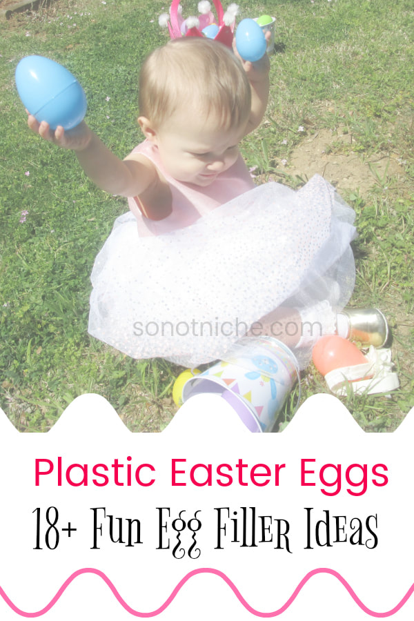 Do you need some good ideas for Easter Egg fillers? Here are my favorite egg filler ideas to make Easter egg hunting more exciting and mess-free!