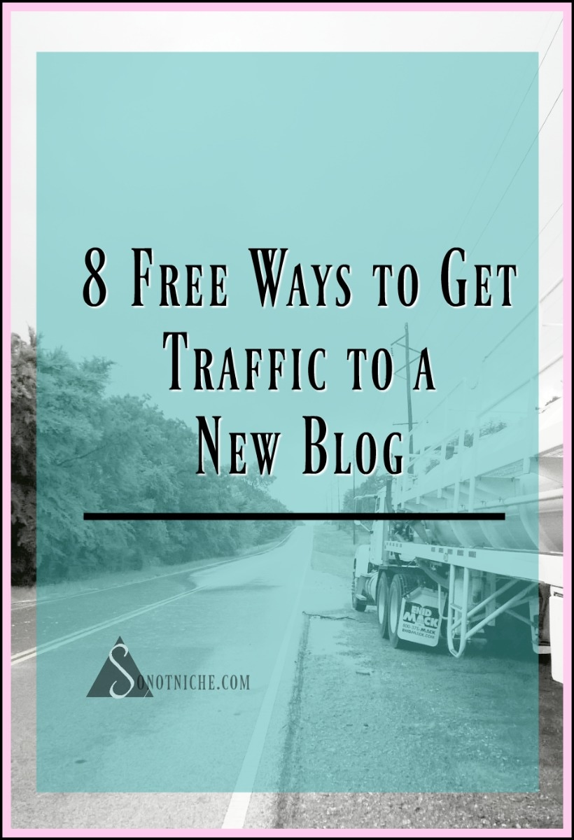 How to get free traffic to a new blog