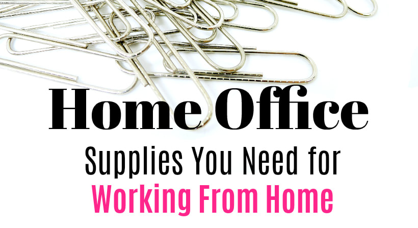 Home Office Supply Checklist
