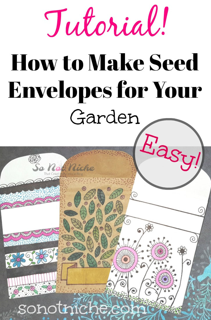 Seed envelope tutorial. Fold your own paper envelopes.