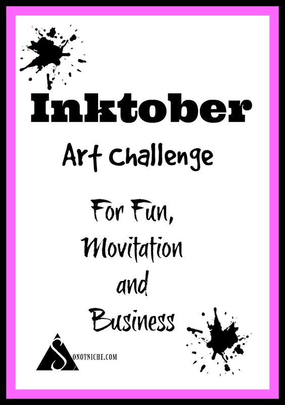 The Inktober 2016 Challenge is here, and it can benefit your business!