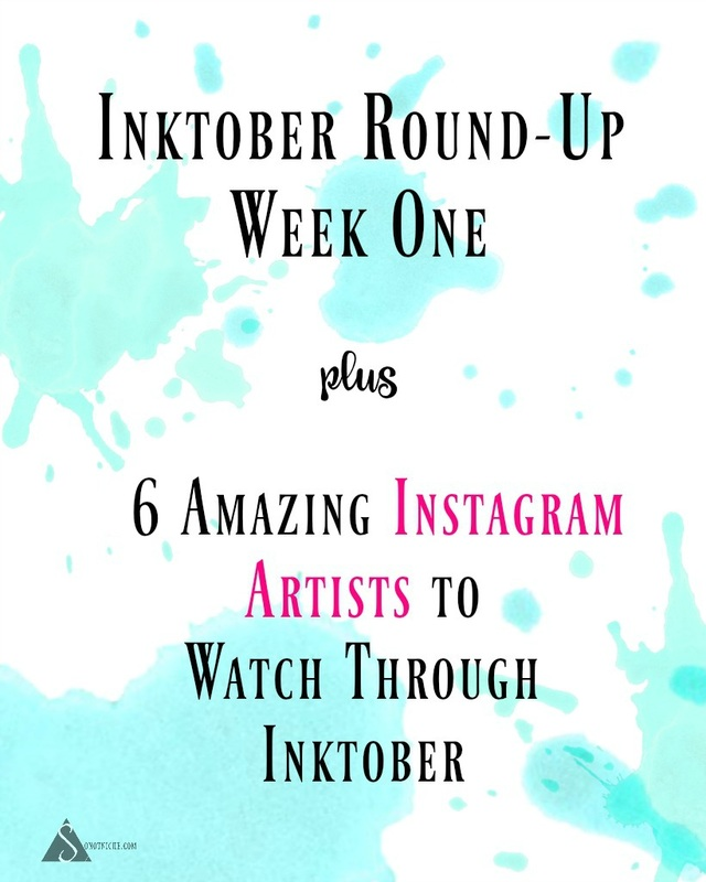 Inktober Artist Roundup--6 Accounts to Watch