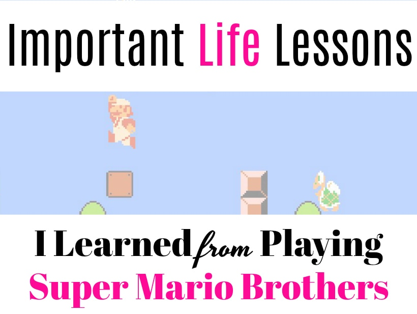 Positive Life Lessons I Learned From Super Mario