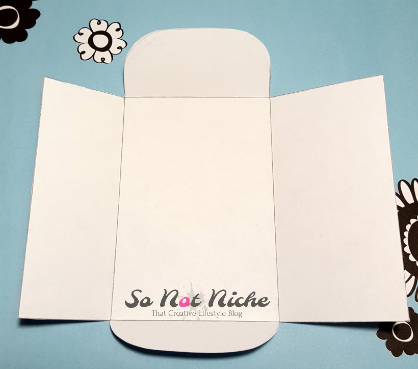 Paper seed envelope template