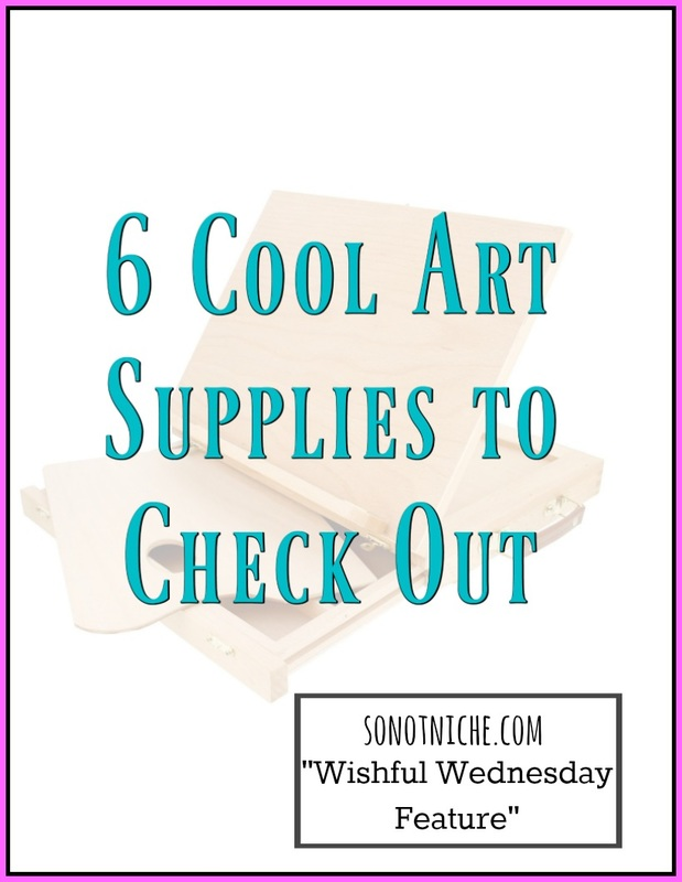 Art supply wishlist