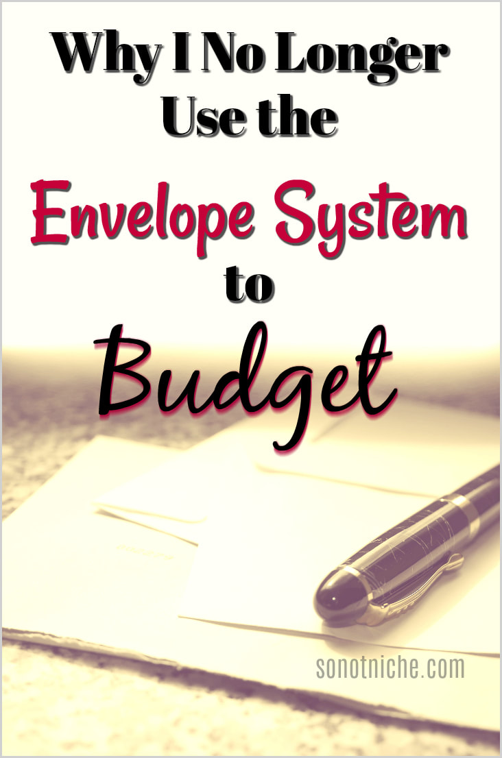Using the envelope system for our home budget. Why it didn't work for us, but might work for your personal finance needs.