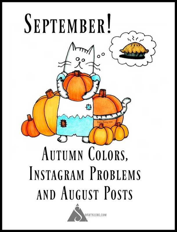 Autumn Cat September illustration