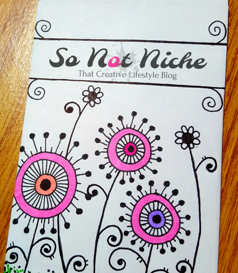 Customize your seed envelopes with Sharpie art