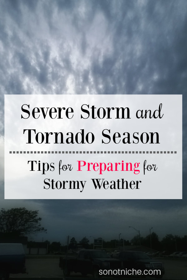 Be prepared for severe storms and tornado season with these tips from a seasoned Oklahoman!